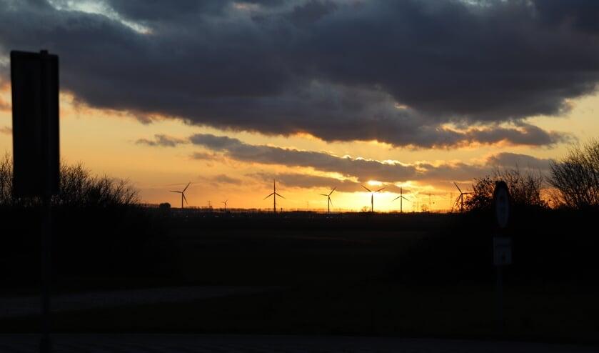 <p>Windmolens bij Woensdrecht</p>