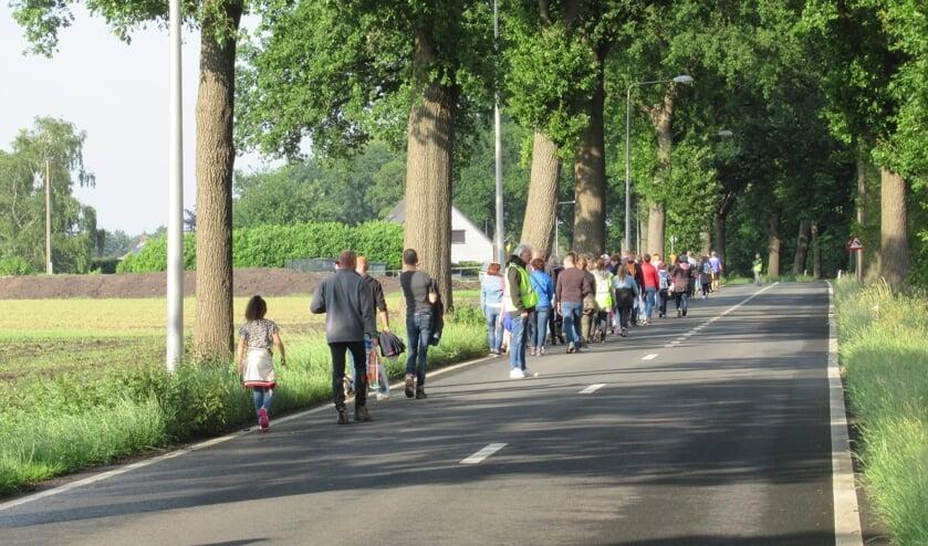 <p>Op pad in en rond Huijbergen.</p>