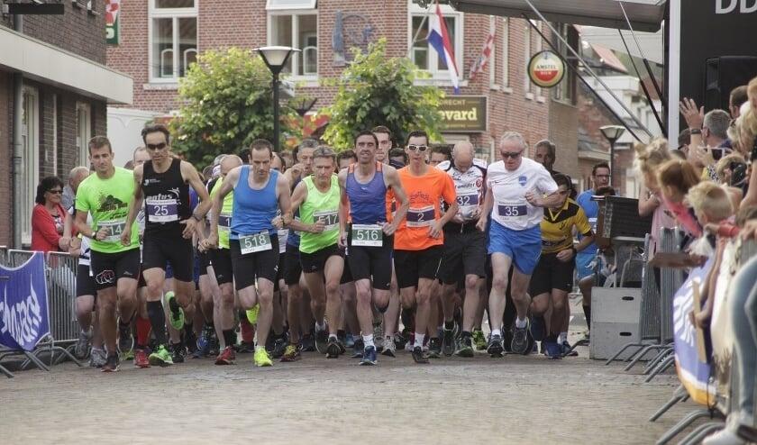 <p>Start bij een voorgaande editie van de Kermisloop Ossendrecht.</p>