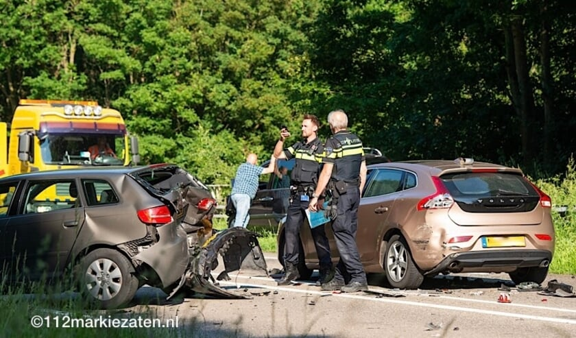 Ongeval op de Eendrachtweg bij Lepelstraat.
