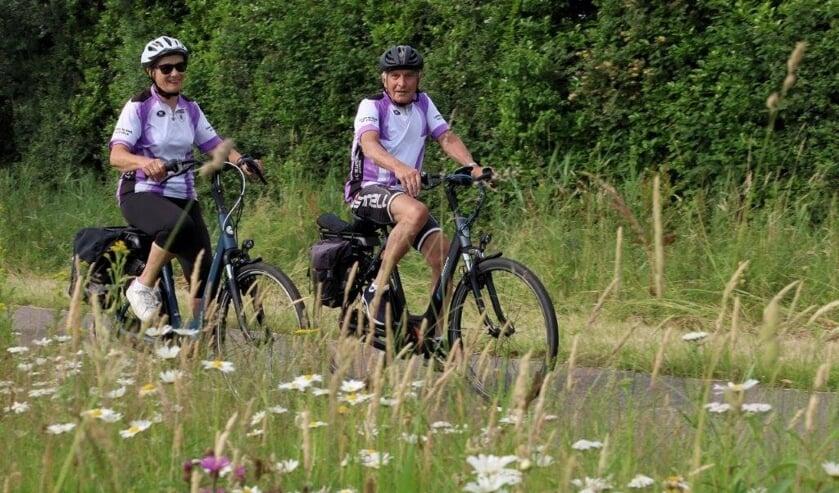 <p>Recreanten van TTC de Liefhebbers onderweg tijdens een fietstocht door de omgeving.&nbsp;</p>