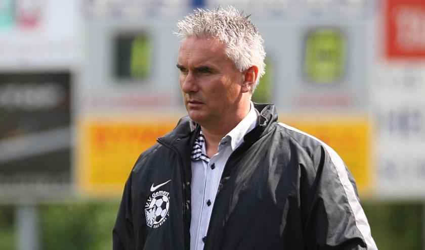 Bert Ruijsch nieuwe trainer UDI'19 (Foto: Peter Kuijpers).
