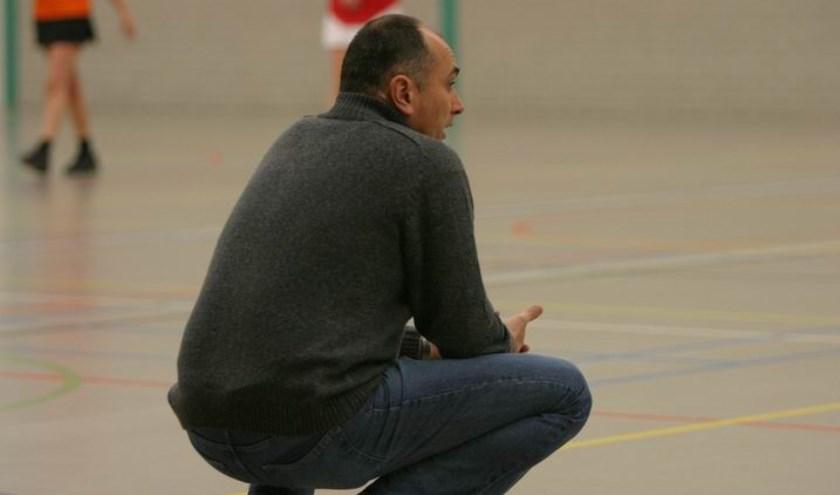 Alf van den Enden, coach van Be Quick (Foto: Peter Kuijpers)