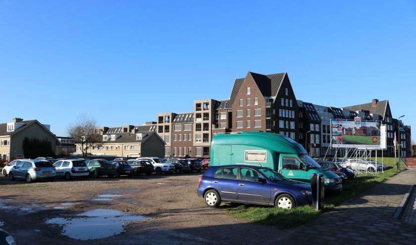 Het terrein bij Catharinahof in Grave.