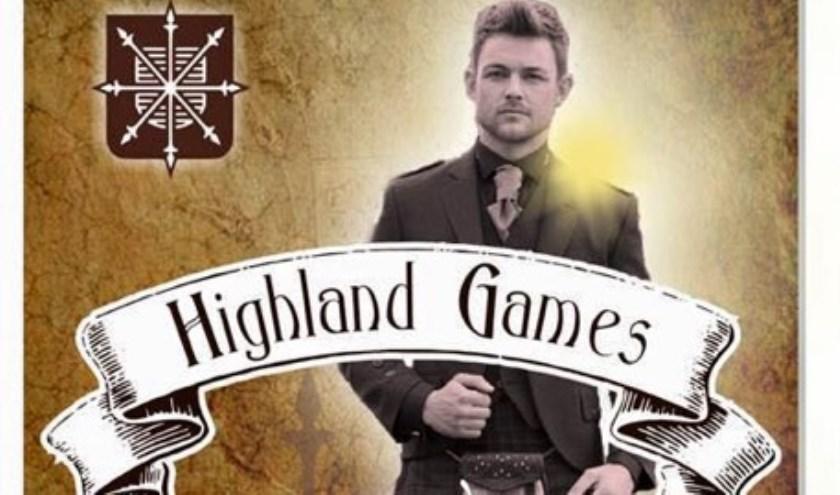 De Highland Games worden op 5 juni voor het eerst in Uden gehouden.