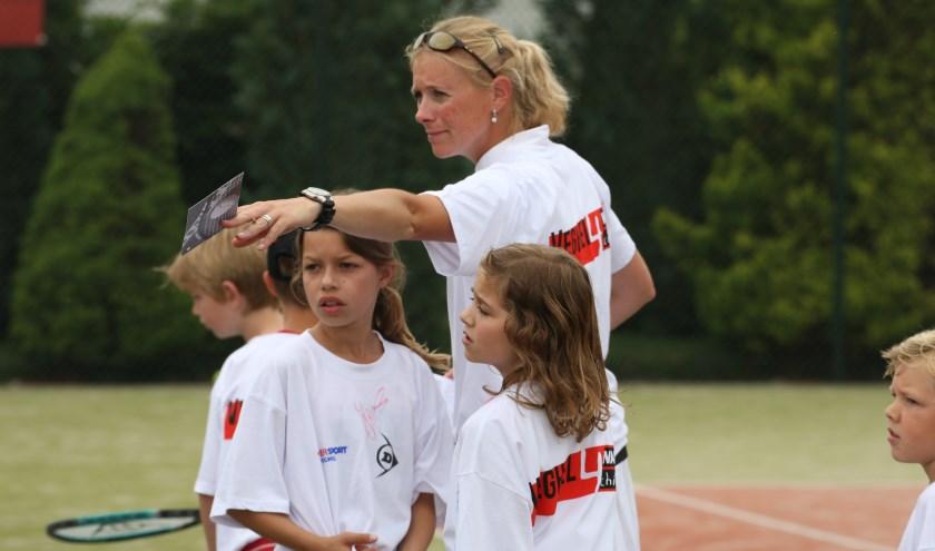 Hanneke Ketelaars van tennispark De Krekel (Foto: Peter Kuijpers)