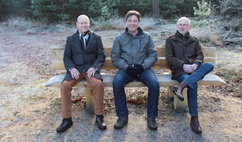 V.l.n.r.: Hans Vereijken, Moritz Böhmer en Jos Roelofs.