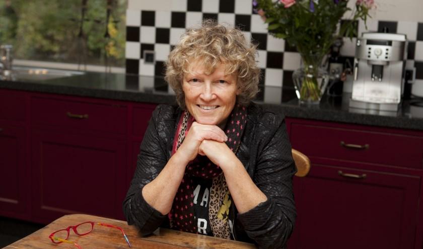 Liesbeth van Heeswijk: 'De steun van afgelopen week is hartverwarmend en geeft veel nieuwe energie.' (foto: Diana Derks)