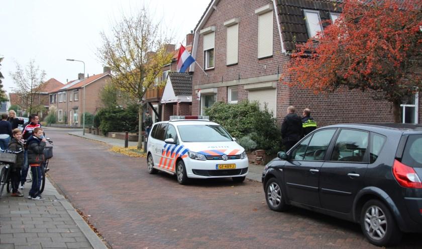 Gevluchte verdachten na brand in vermoedelijke hennepkwekerij in Gennep snel gepakt. (foto: SK-Media)