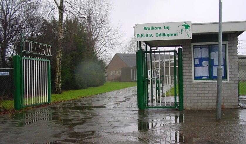 <p>Sportpark De Smelen in Odiliapeel.&nbsp;</p>