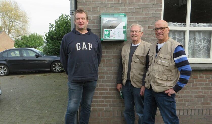 Op de foto van links naar rechts: Marco van Asseldonk, Jan van Grunsven en Maarte van den Heuvel.
