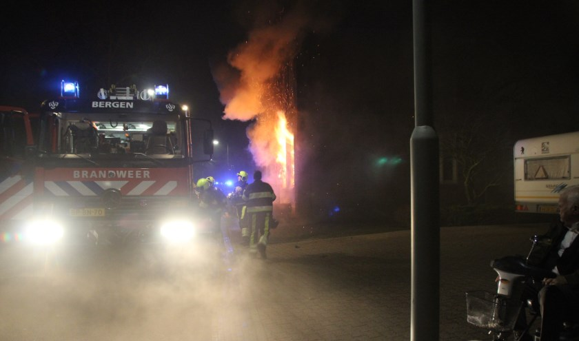 Uitslaande brand in Siebengewald. (foto: SK-Media)