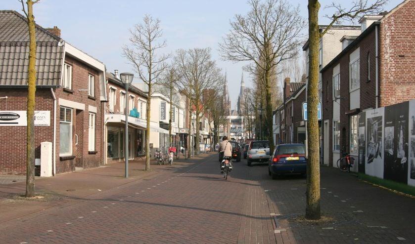 De Molenstraat in Cuijk.