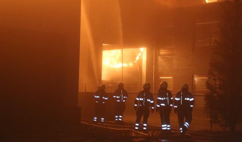 Brand in Schaijk. (Foto: Maickel Keijzers / Hendriks multimedia)