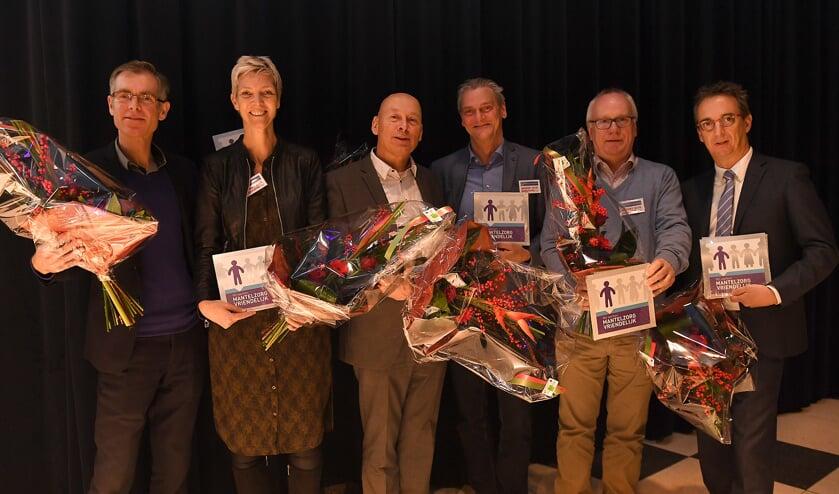 Certificaat Mantelzorgvriendelijke werkgever voor acht organisaties in het Land van Cuijk.