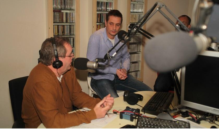 Gasten in de SkyLine studio (Foto Peter Kuijpers)