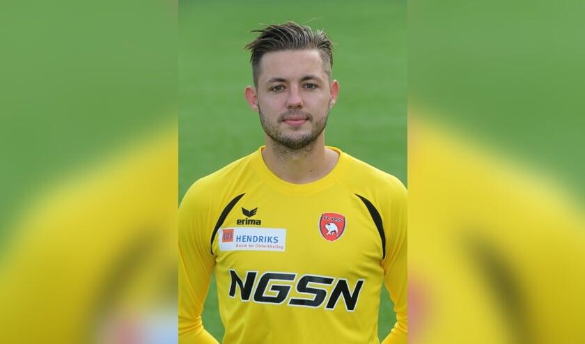 <p>Nick Hengelman als speler van FC Oss.</p>