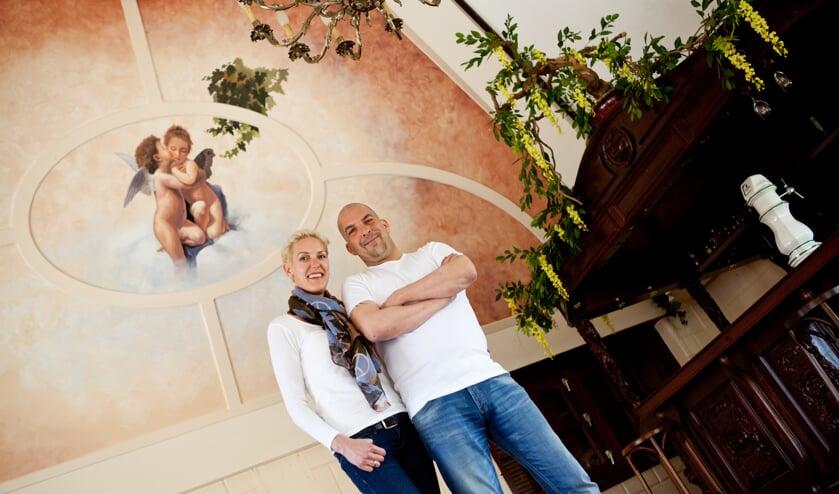 Barbara en Richard Komen willen in Katwijk een parenclub realiseren. (archieffoto: Diana Derks)