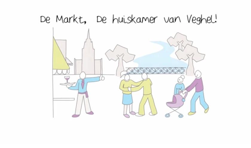 De Markt moet de huiskamer van Veghel worden.