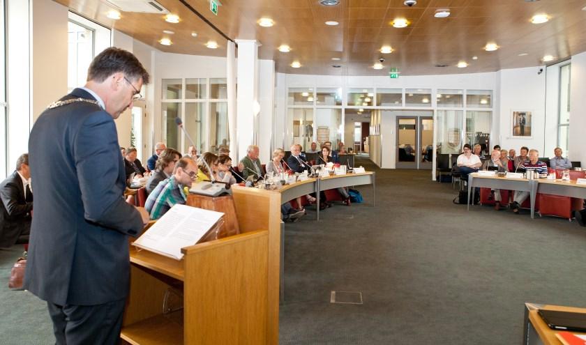 De gemeenteraad van Cuijk sprak maandag over de Kadernota 2017. (foto: Diana Derks)