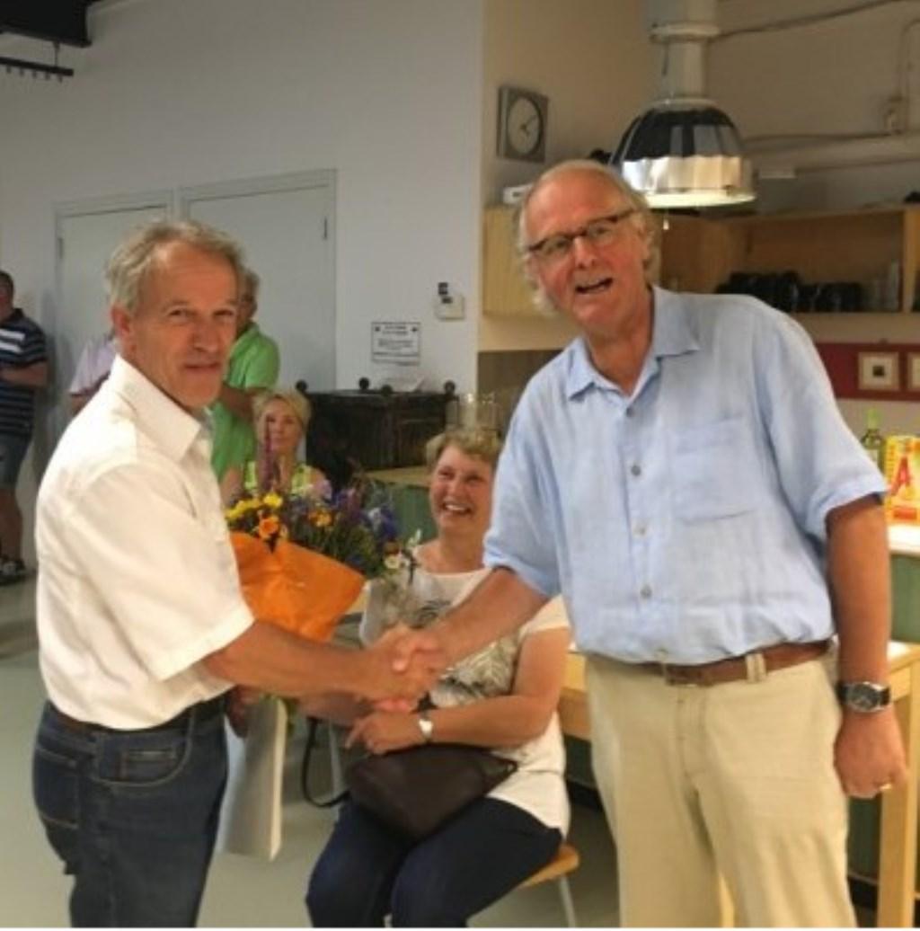 Winnaar Pieter van Bernebeek.  © Kliknieuws Oss