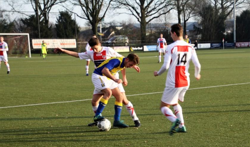 Het werd zondag een doelpuntloze wedstrijd voor Volkel 1 (Foto: Agnieszka Kuijpers)