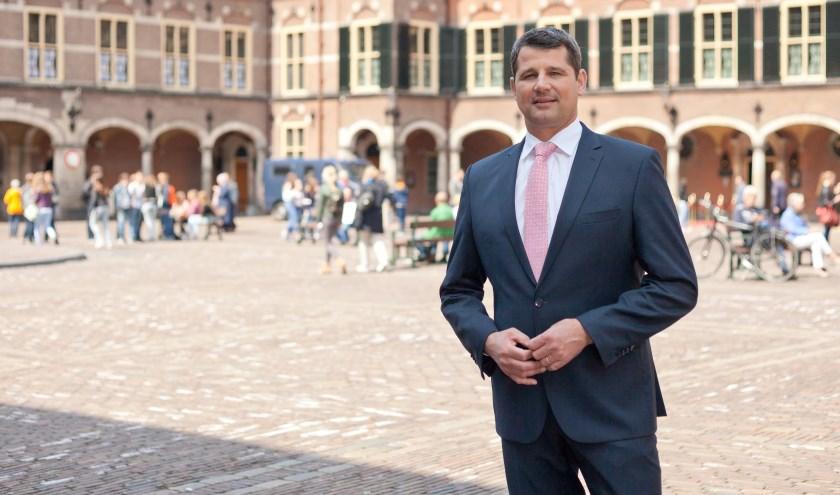 Erik Ronnes uit Boxmeer is de Oost-Brabantse kandidaat voor het CDA bij de Tweede Kamerverkiezingen op 15 maart. (Fotografie: Gerhard Taatgen)