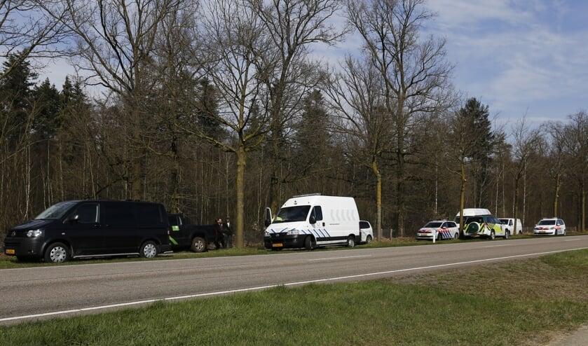 Vermiste vrouw (62) uit Sint Anthonis levenloos aangetroffen langs N272 bij Oploo. (foto: SK-Media)