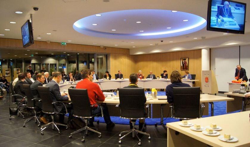 De gemeenteraad van Boxmeer. (foto: Jeff Meijs)