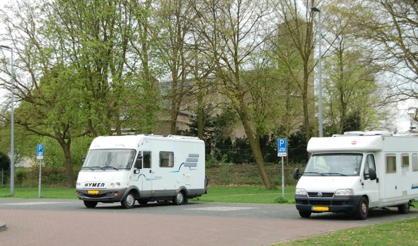 De camperplaatsen bij De Diepen en De Martinushof (foto) worden straks geëxploiteerd door externe partijen (foto: Jos Gröniger)