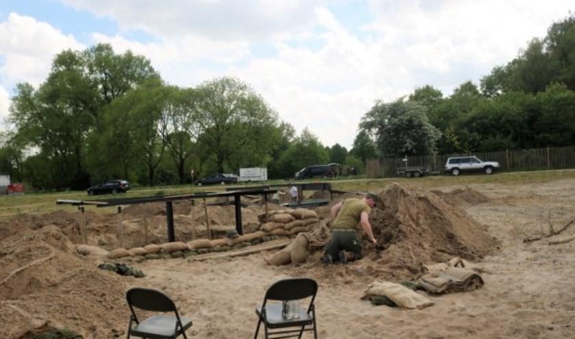 Afgelopen weekend was op het Visio-terrein in Grave een 'multi period-event'. (tekst en foto: Annelies Graafsma)