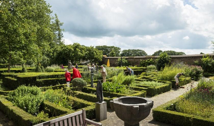De Kruidentuin van het Kunst Klooster in Uden.