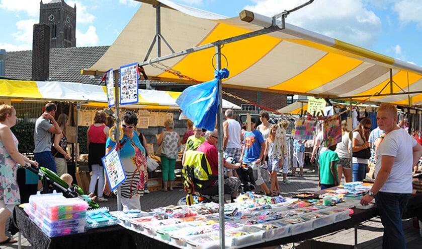 De vakantiejaarmarkt trekt elk jaar duizenden bezoekers.