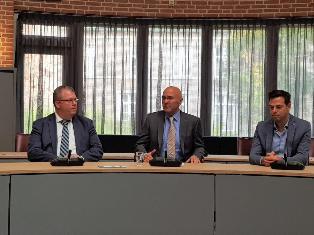 Johan van Gerwen, Kees van Rooij en Etienne Franken.  © Kliknieuws Veghel