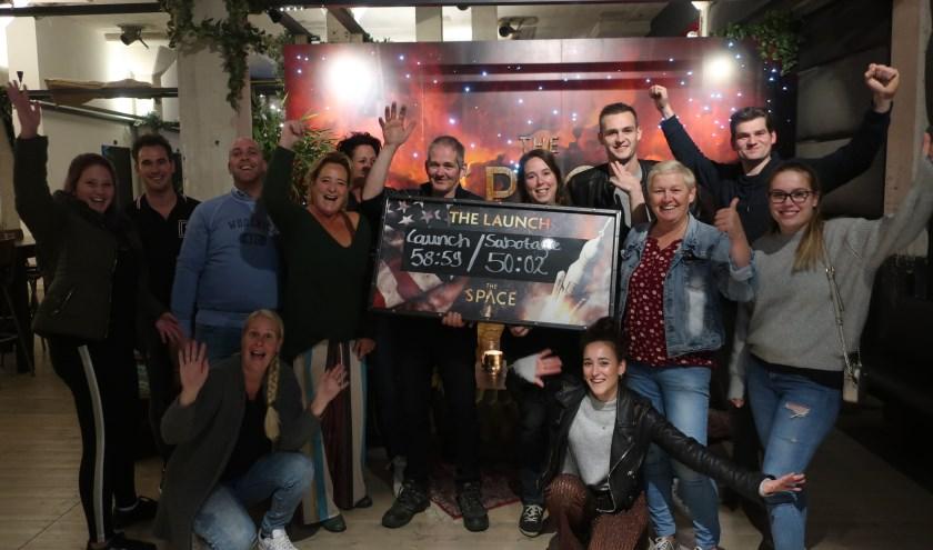 Ondernemers van de Kalverstraat gaan vol enthousiasme door met een succesvolle actie.