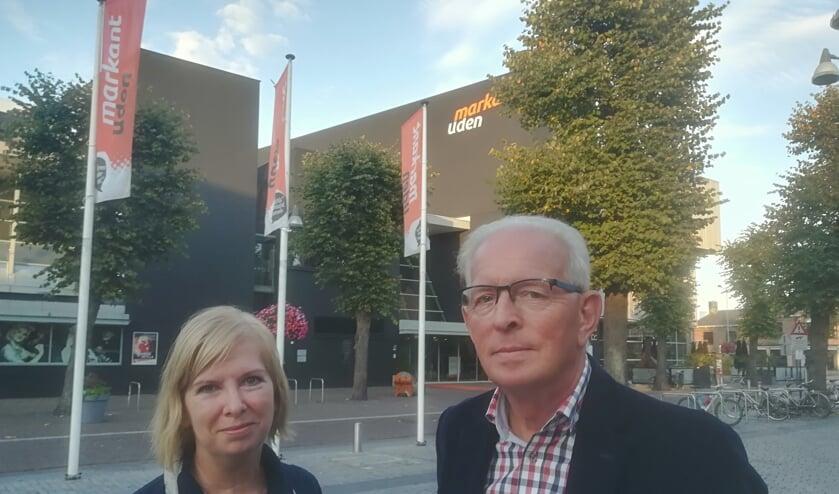 Ria Ooms en Mart van Hoorn (foto: Mart van Hoorn)