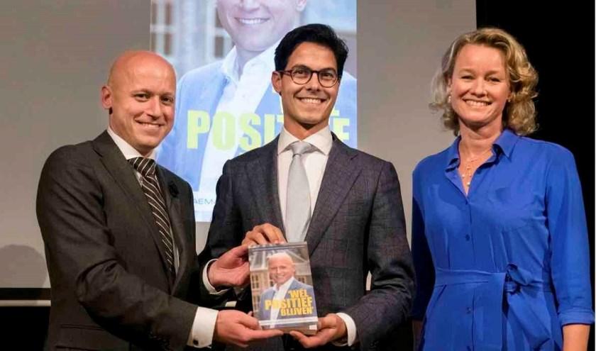 Rens Raemakers, Rob Jetten en Mérie van der Rijt (foto: Bas Kijzers)