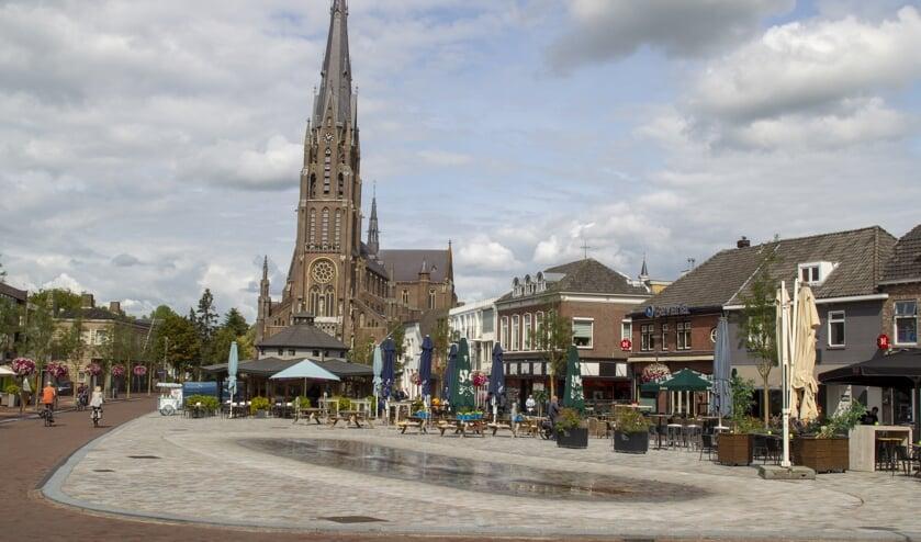De Markt in Veghel Centrum.