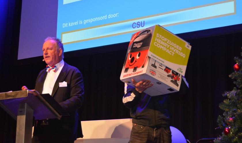 De Kerstveiling van UDI'19 leverde 40.000 euro op.
