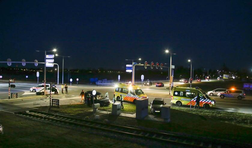 Het ongeval gebeurde op de Weg van de Toekomst ( Foto's : Maickel Keijzers / Hendriks Multimedia )