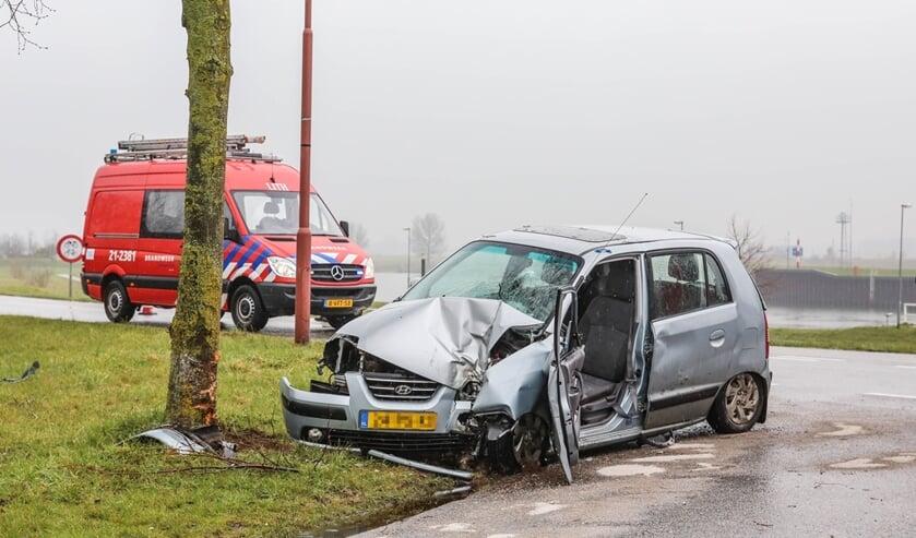 Ongeval in Lith. (Foto: Maickel Keijzers / Hendriks Multimedia)