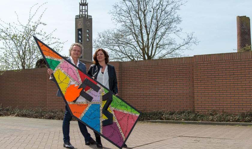 Jan van Hoof en Carin Simons (Foto's: Bart Heesen).