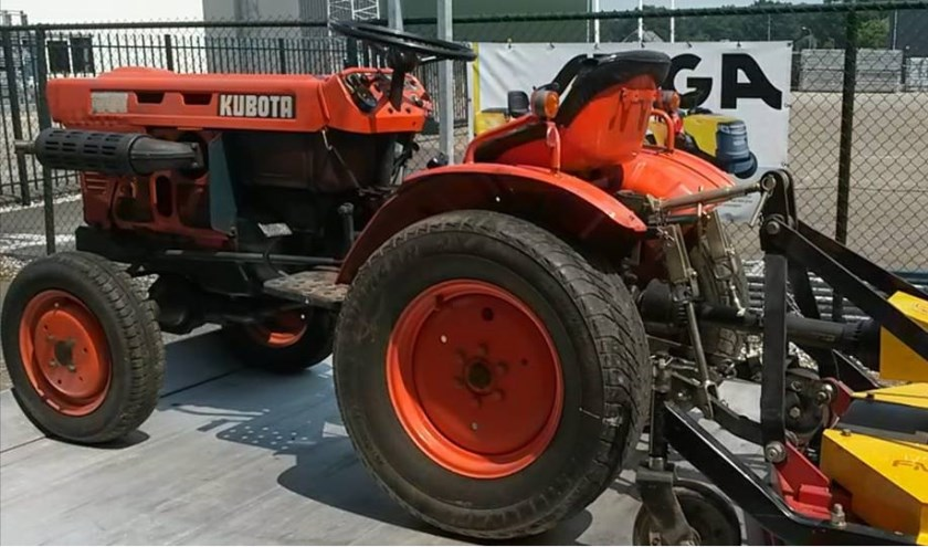 De gestolen tractor