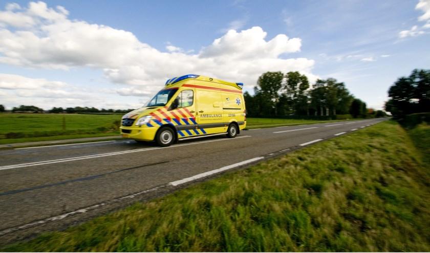 Een ambulance.