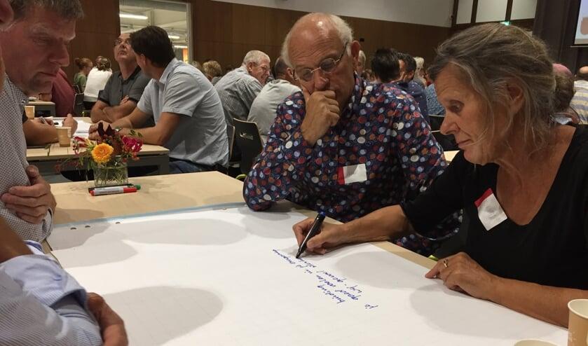 Tijdens het Burgerberaad in Cuijk gingen bewoners aan de slag met hun ideeën over de openbare ruimte in hun gemeente.