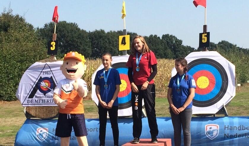 Marit Nederlands Kampioen handboogschieten