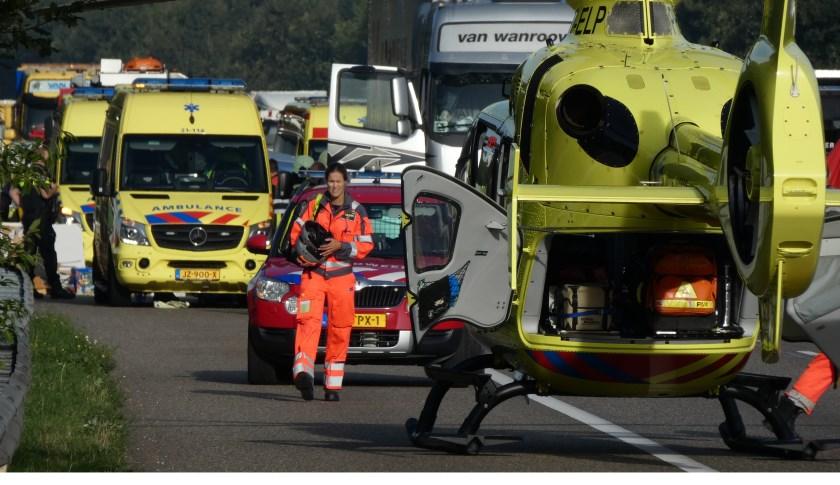 Ongeval op de A59.