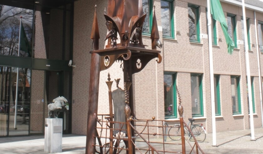 <p>Het gemeentehuis in Sint Anthonis</p>