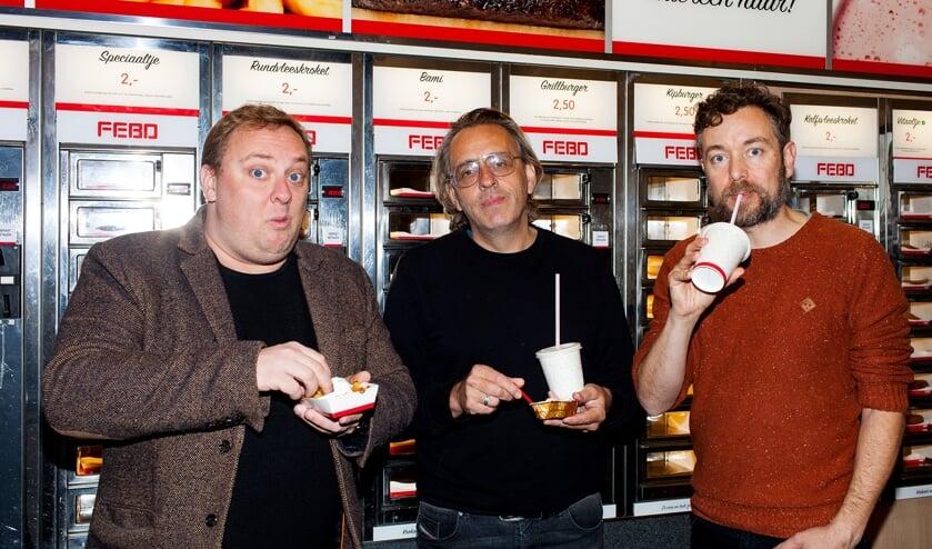 Marcel van Roosmalen, Roelof de Vries en Jan Dirk van der Burg. (foto: Renate Beense)