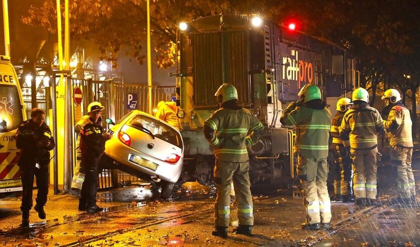 Gewonde bij ongeval met goederentrein in Oss. (Foto: Gabor Heeres / Foto Mallo)